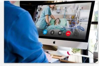 ICU Monitors | ICU bed monitoring from the comfort of your home